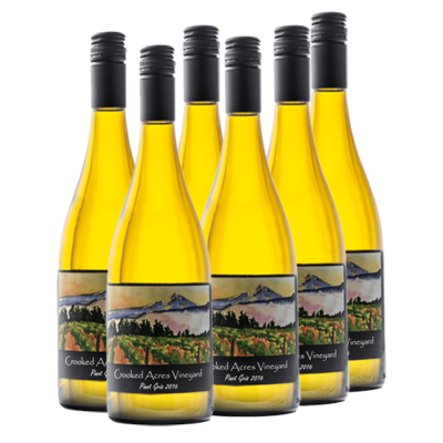 Crooked Acres Vineyard Pinot Gris 2016 Half-Case