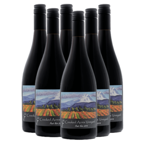 Crooked Acres Vineyard Pinot Noir 2015 Half-Case